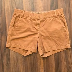 J. Crew Chino Shorts; Size 6